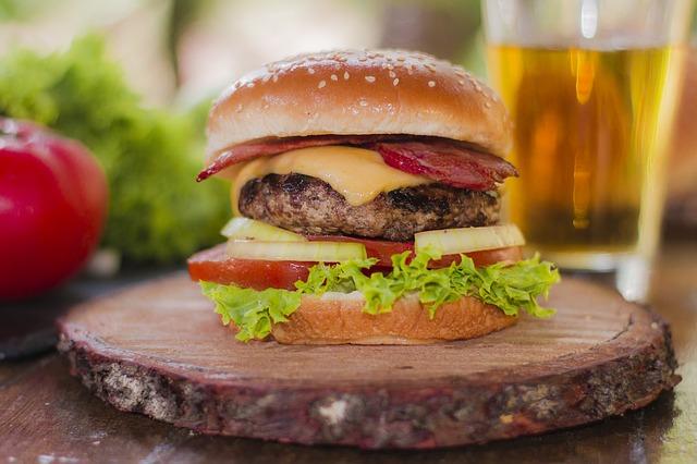 oblíbený burger
