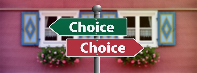 volba výběru