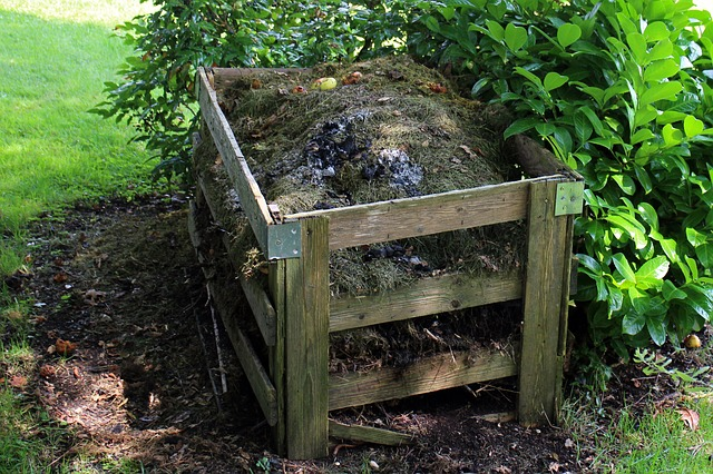 ohrádka na kompost