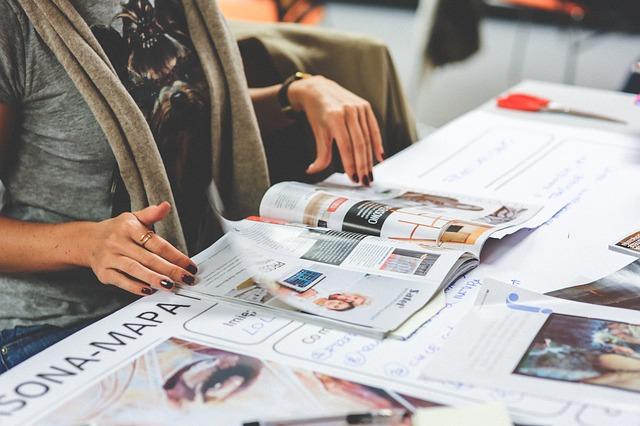 prohlížení časopisů