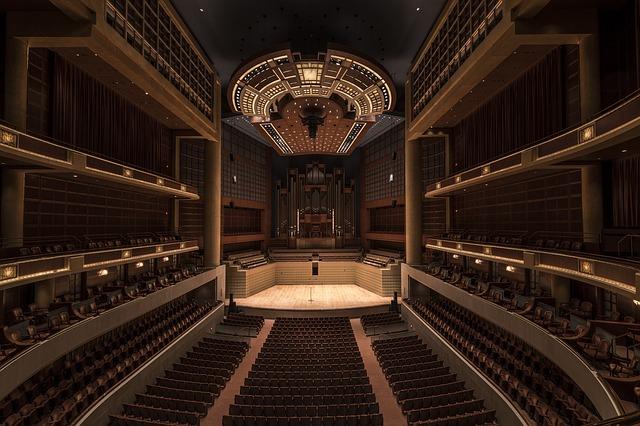 Divadlo, scéna, kultura.