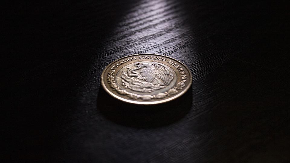 mexická mince
